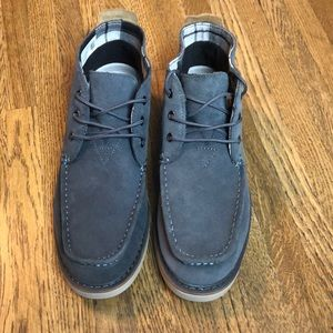 Toms Chukka Boots Suede Forged Iron New